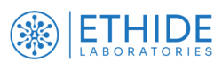 Ethide Labs horizontal logotype. Laboratory Testing for Medical Devices in Rhode Island